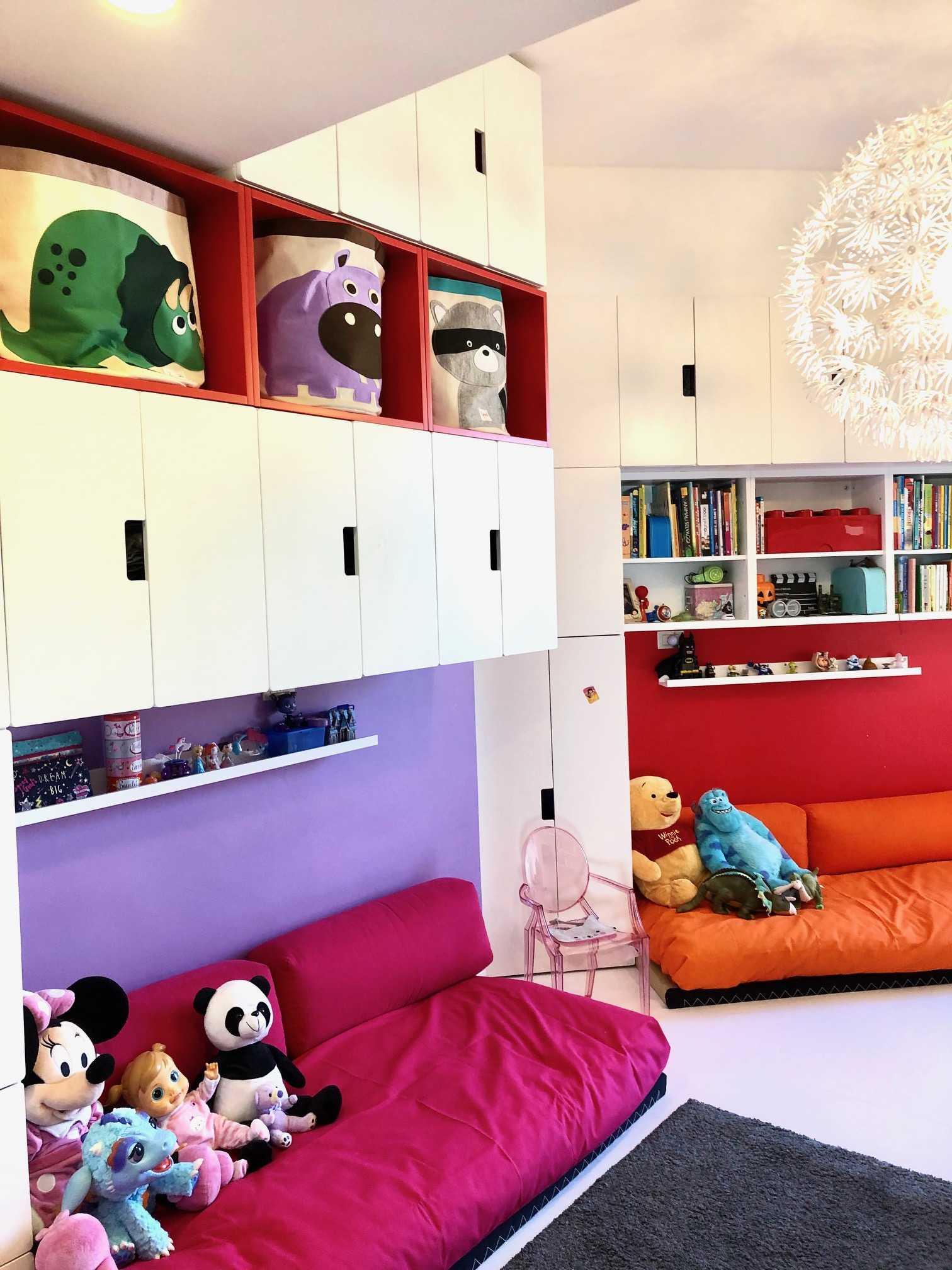 Camerette Tre Letti Ikea una camera per tre. come ho organizzato la cameretta per tre