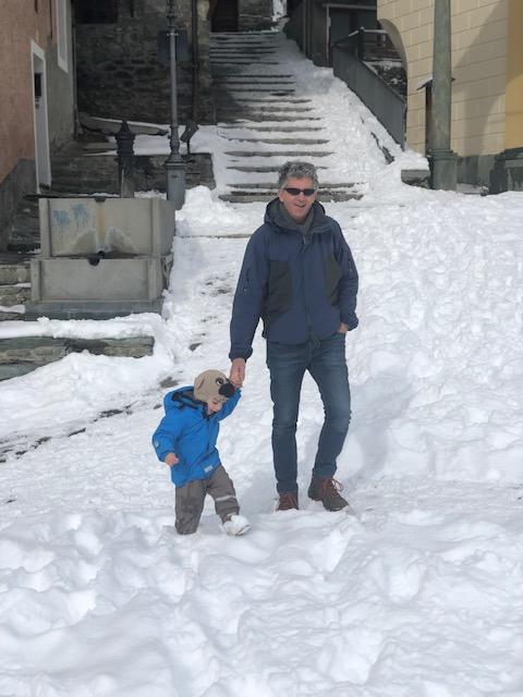 ANTAGNOD UNO DEI BORGHI PIU' BELLI D'ITALIA, PARADISO SULLA NEVE PER LA FAMIGLIA 47