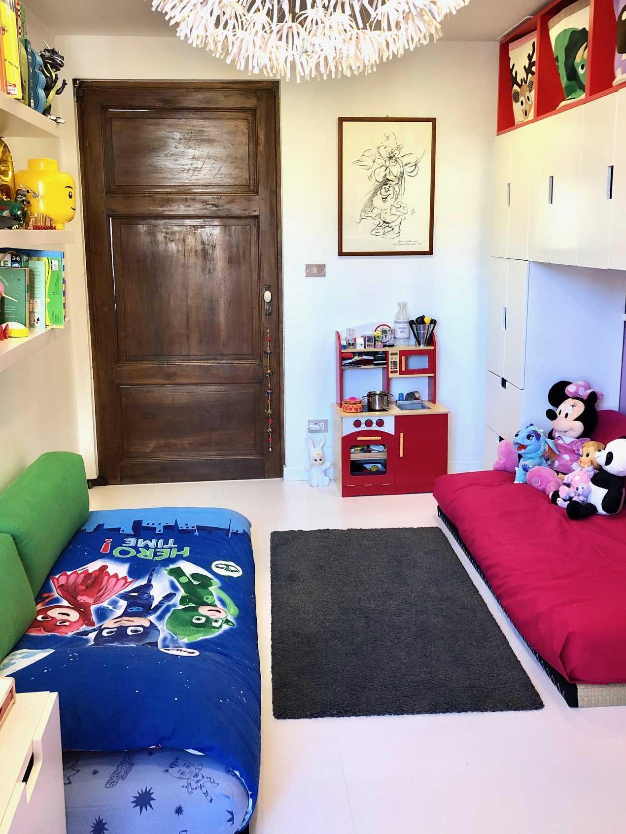 Muri Camerette Per Bambini una camera per tre. come ho organizzato la cameretta per tre