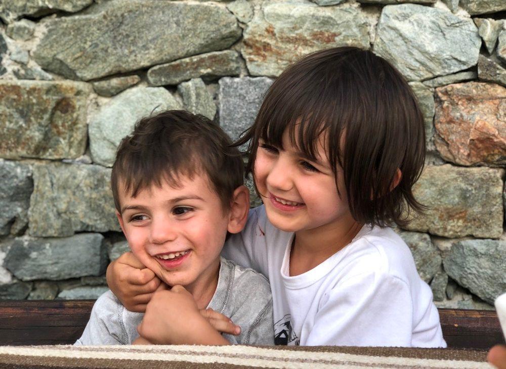 Chamois -con- i -bambini