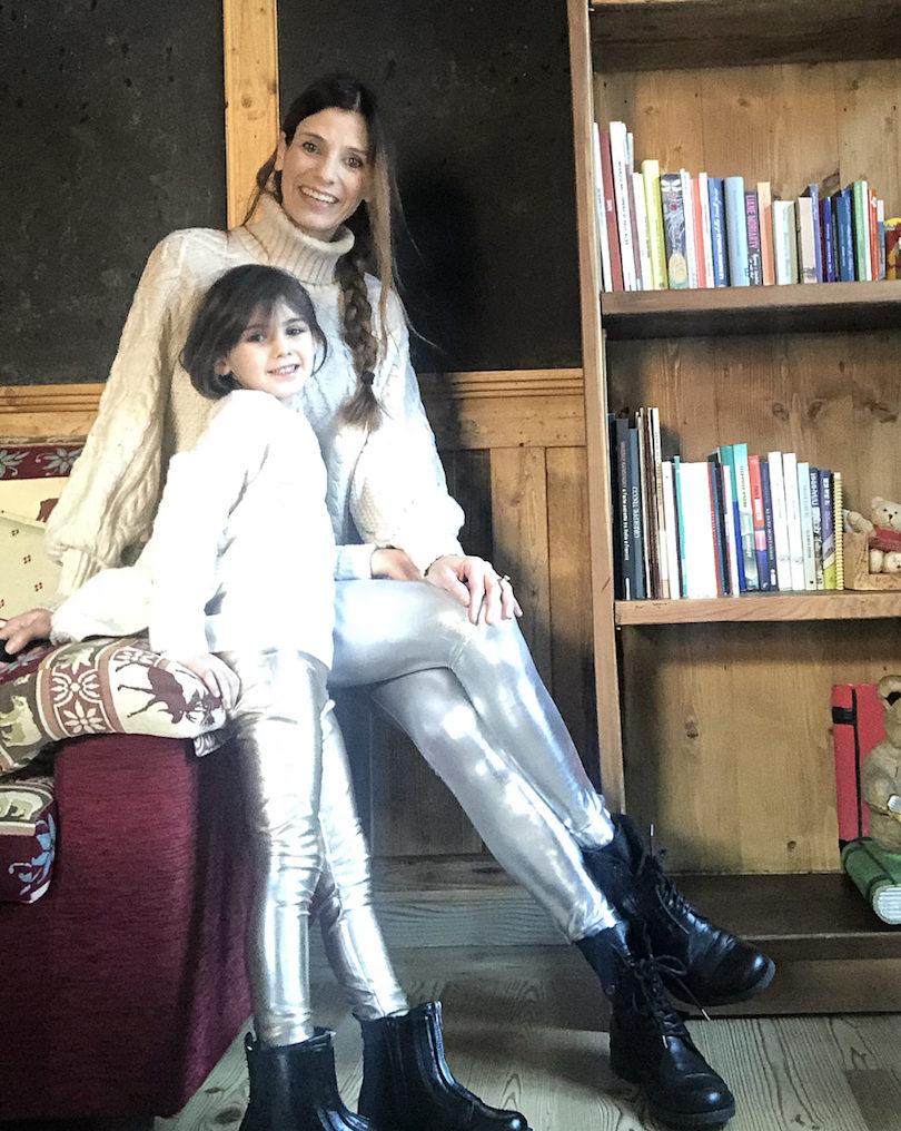 coordinati-mamma-e-figlia-pantaloni-argento