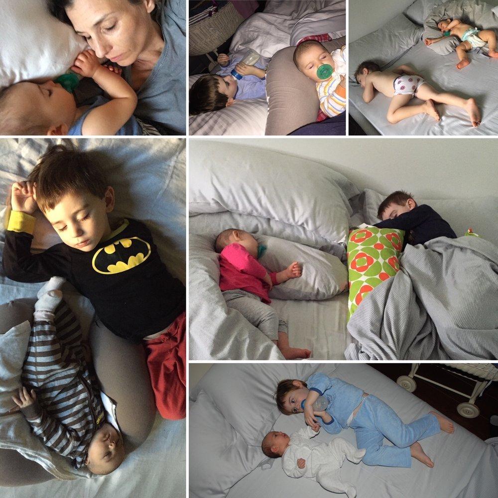 Co-sleeping-genitori-figli
