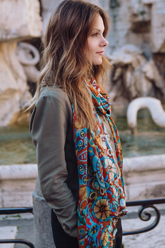 Opere -pittoriche- su -stole-foulard