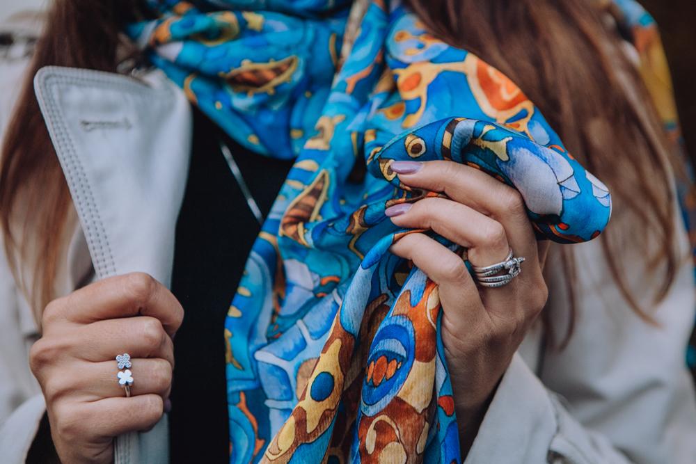 foulard-opera-pittorica