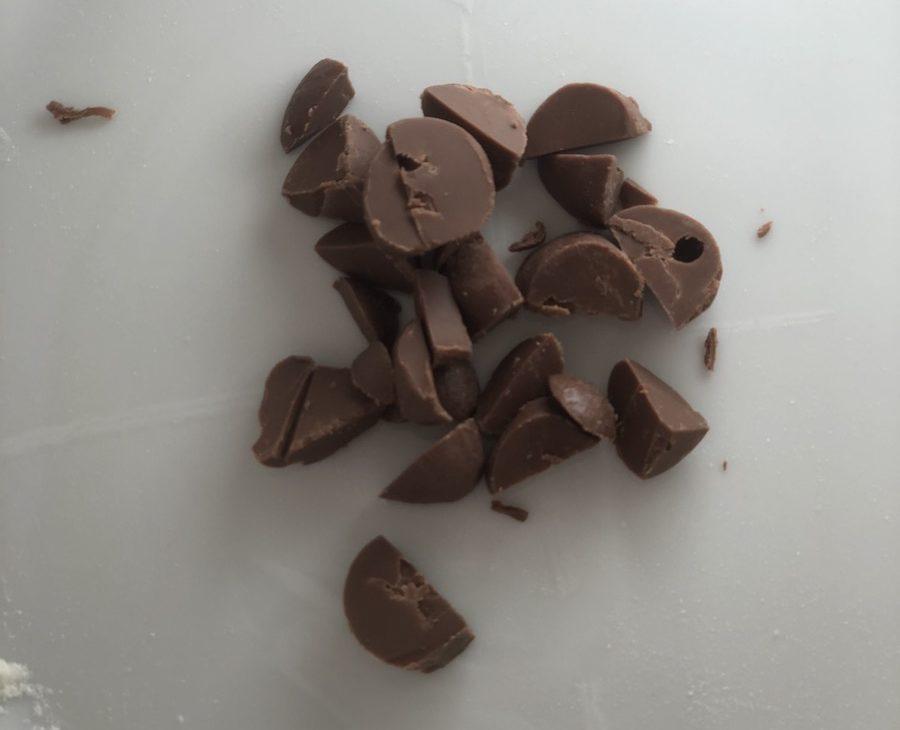 cioccolato-da-riciclare-per-dolci -da- fare- con- i- bambini