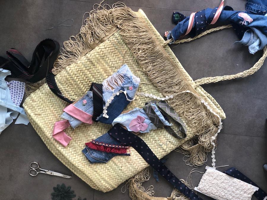 borsa -di- paglia- personalizzata