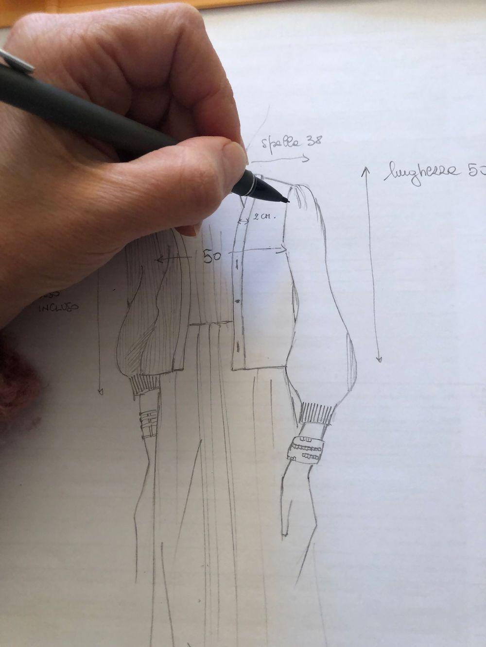 maglieria -donna-disegno